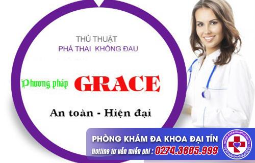 phương pháp grace và lưu ý trước khi phá thai
